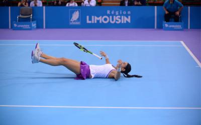 Caroline Garcia remporte l'Engie Open de Limoges 2015