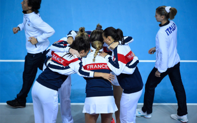 La France en demi-finale de Fed Cup !